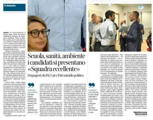 20180902_Corriere presentazione lista