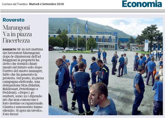 20180904_Corriere del Trentino Marangoni