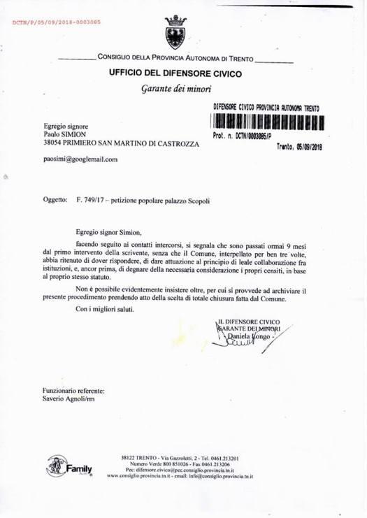 20180905_lettera_E TEMPO DI PRIMIERO