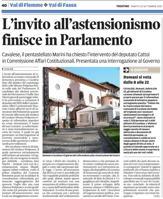 20180922_invito astensionismo finisce in Parlamento