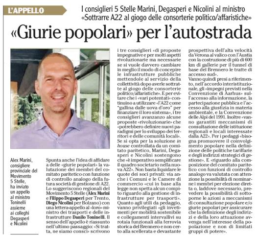 20181106_Adige_A22_giurie_popolari
