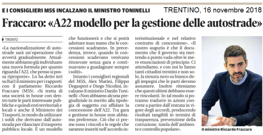 20181116_consiglieri incalzano Toninelli