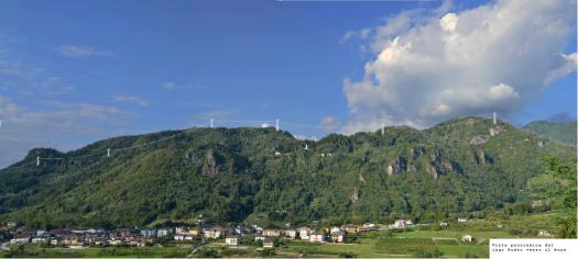 vista panoramica da lago di Pudro