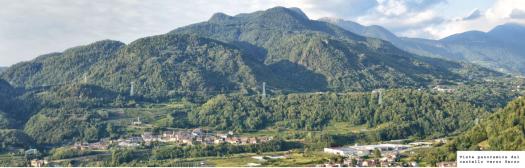 vista panoramica dal Castello