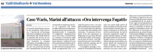 20190115_caso Waris Marini all attacco