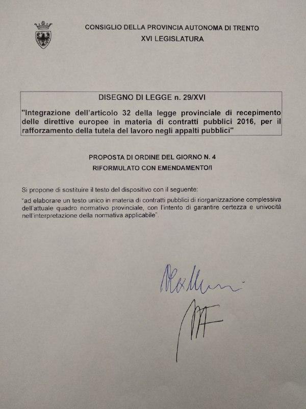 20191024_emendamento podg 4 ddl 29